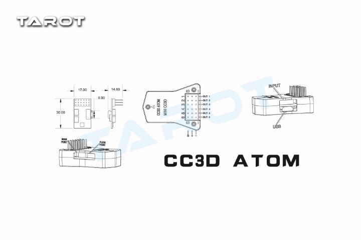 TAROT MINI CC3D OPENPILOT FLIGHT CONTROLLER TL300D2 - FLYING MODEL AIRPLANE温州飞越航模有限公司